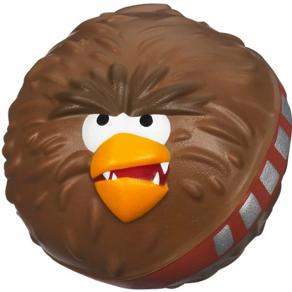 Купить Воздушные бойцы Angry Birds Star Wars Чуббака (Hasbro) в интернет магазине игрушек и детских товаров