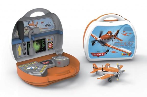 Конструктор Smoby Самолетик Дасти в чемоданчике