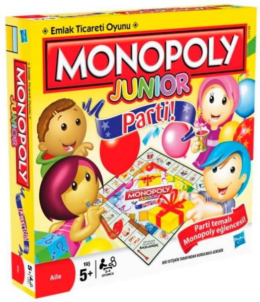 Купить Настольная игра Hasbro Монополия для детей Вечеринка в интернет магазине игрушек и детских товаров