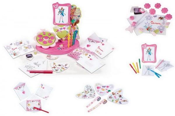 Купить Игровой набор для творчества Winx (Smoby) в интернет магазине игрушек и детских товаров