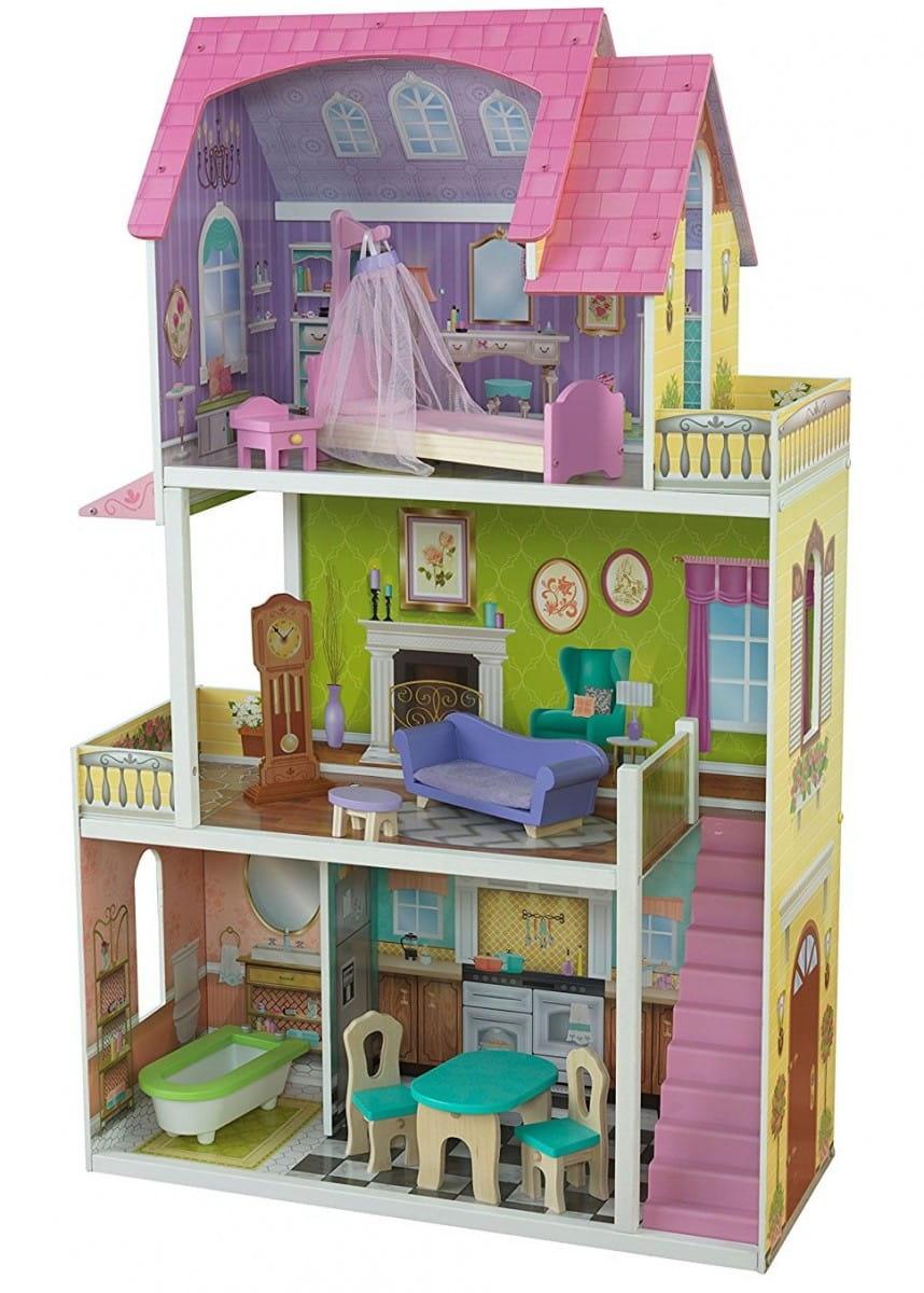 Кукольный домик с мебелью KIDKRAFT Флоренс Florence Dollhouse