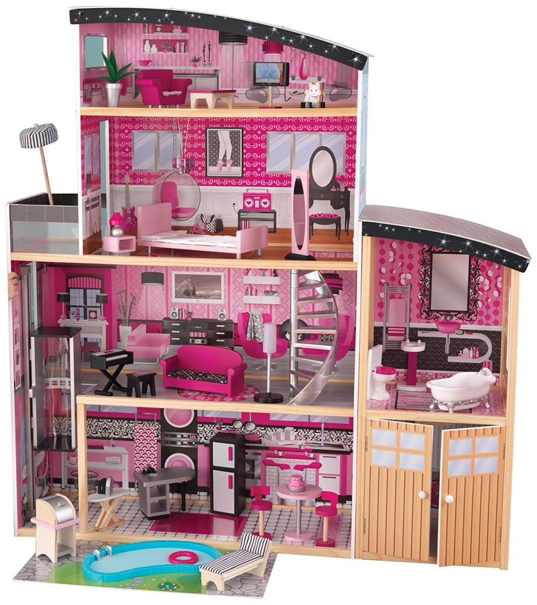Большой кукольный дом KIDKRAFT Сияние Sparkle Mansion Dollhouse