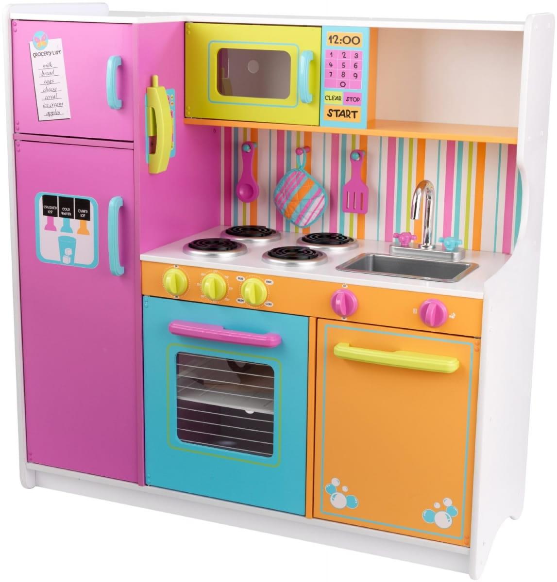 Купить Большая детская кухня KidKraft Делюкс Deluxe Big в интернет магазине игрушек и детских товаров