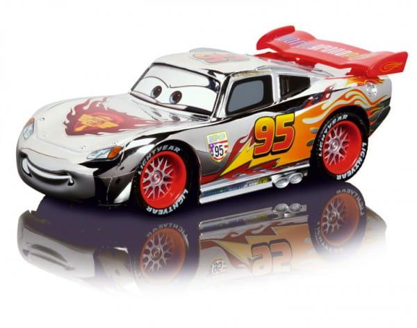 Купить Радиоуправляемая машина Dickie Молния МакКуин серебристый 17 см 1:24 в интернет магазине игрушек и детских товаров