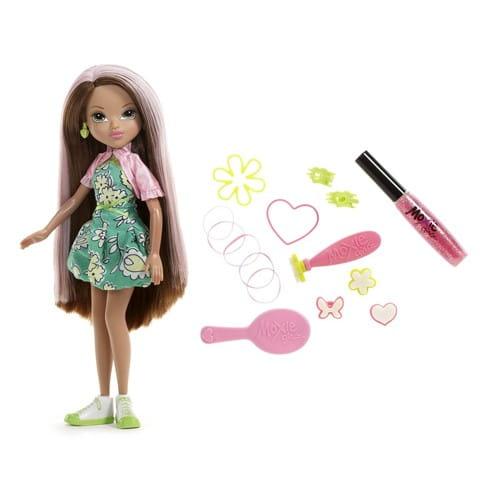Купить Кукла Moxie Волшебные волосы - Моне в интернет магазине игрушек и детских товаров