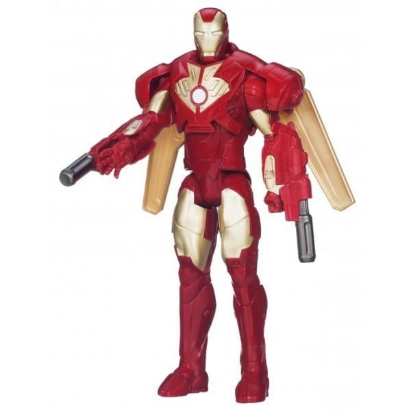 Купить Фигурка Железного Человека Делюкс Iron Man (Hasbro) в интернет магазине игрушек и детских товаров
