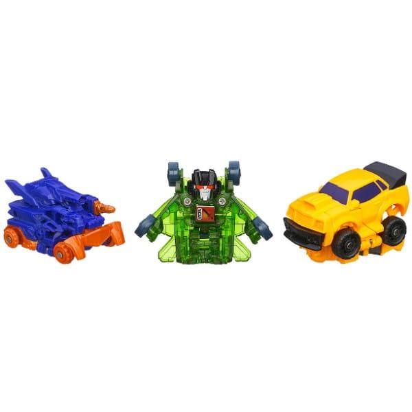 Купить Трансформеры Transformers Bot Shots 3 фигурки - Бамблби, Шоквейв, Скайквейк (Hasbro) в интернет магазине игрушек и детских товаров