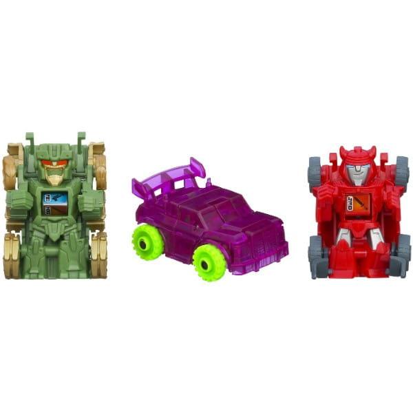 Купить Трансформеры Transformers Bot Shots 3 фигурки - Клифджампер, Браул, Дерт Босс (Hasbro) в интернет магазине игрушек и детских товаров