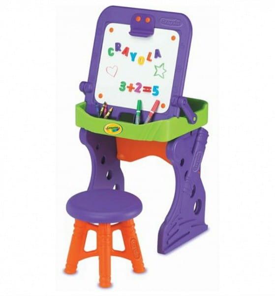 Купить Мольберт Crayola с табуреточкой в интернет магазине игрушек и детских товаров