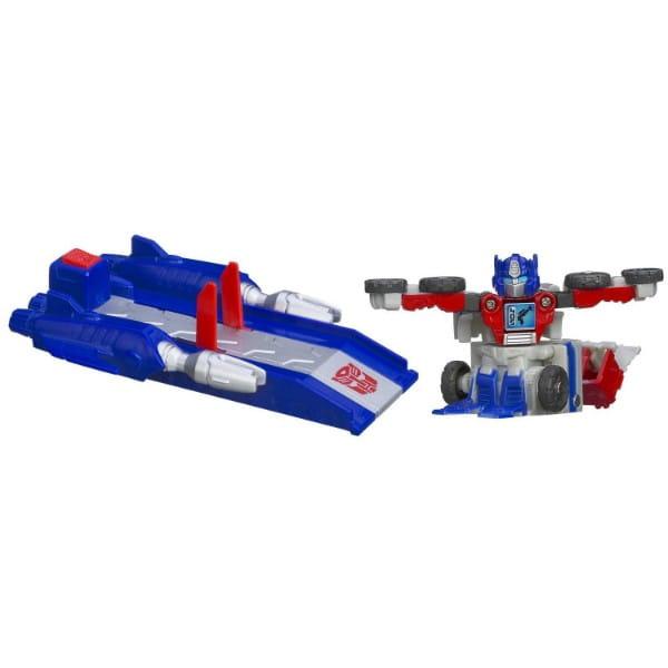Купить Трансформер Transformers Bot Shots с запускающим устройством - Оптимус Прайм (Hasbro) в интернет магазине игрушек и детских товаров