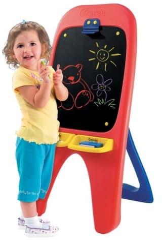 Купить Односторонний мольберт Crayola с грифельной доской в интернет магазине игрушек и детских товаров