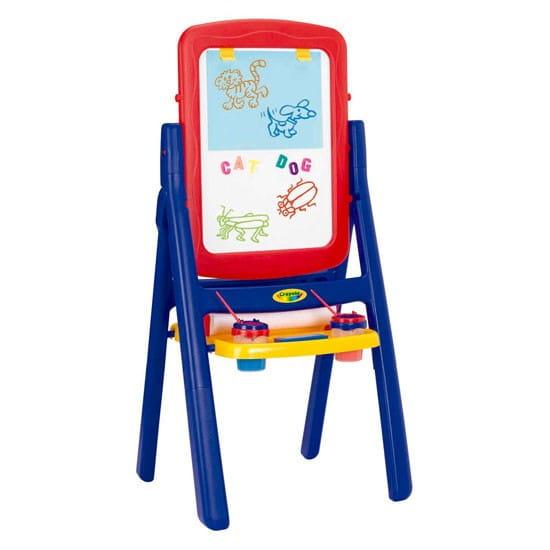 Купить Двусторонний вертикальный мольберт Crayola в интернет магазине игрушек и детских товаров