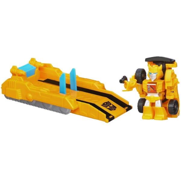Купить Трансформер Transformers Bot Shots с запускающим устройством - Бамблби (Hasbro) в интернет магазине игрушек и детских товаров