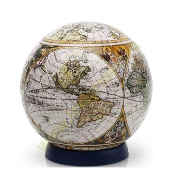 Купить Шаровой пазл Pintoo Старинная карта мира - 540 деталей в интернет магазине игрушек и детских товаров