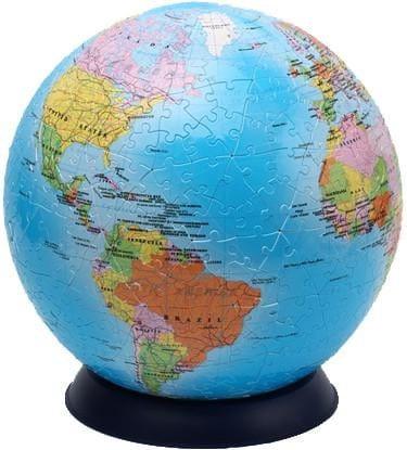 Купить Шаровой пазл Pintoo Глобус - 540 деталей в интернет магазине игрушек и детских товаров