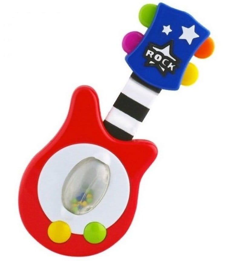 Развивающая игрушка-погремушка SASSY Гитара