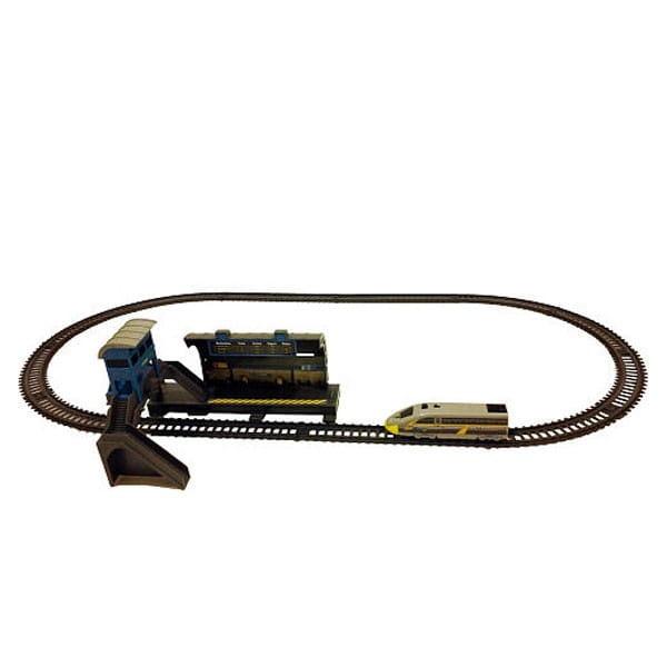 Купить Железная дорога Power Trains Станция в интернет магазине игрушек и детских товаров
