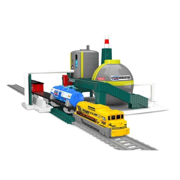 Купить Нефтеперегонная станция Power Trains в интернет магазине игрушек и детских товаров