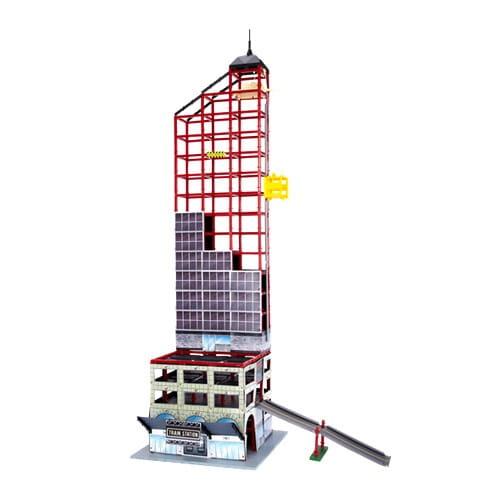Купить Игровой набор Power Construction Небоскреб, паркинг и железнодорожная станция в интернет магазине игрушек и детских товаров