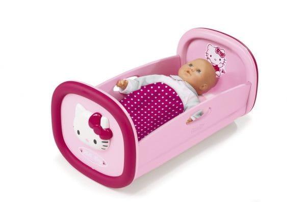 Купить Колыбель для пупса Smoby Hello Kitty в интернет магазине игрушек и детских товаров