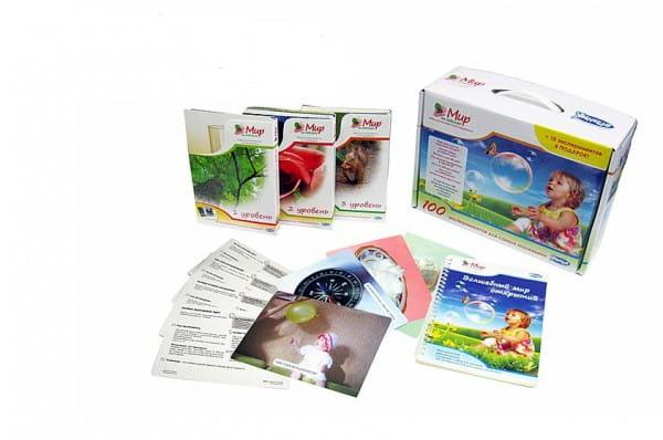 Купить Комплект Умница Мир на ладошке - 100 экспериментов для самых маленьких в интернет магазине игрушек и детских товаров