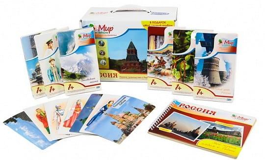 Купить Комплект Умница Мир на ладошке - Россия в интернет магазине игрушек и детских товаров