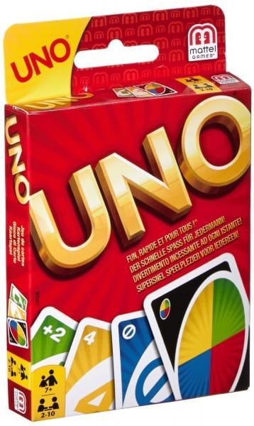 Карточная игра Uno Уно классическая (Mattel)
