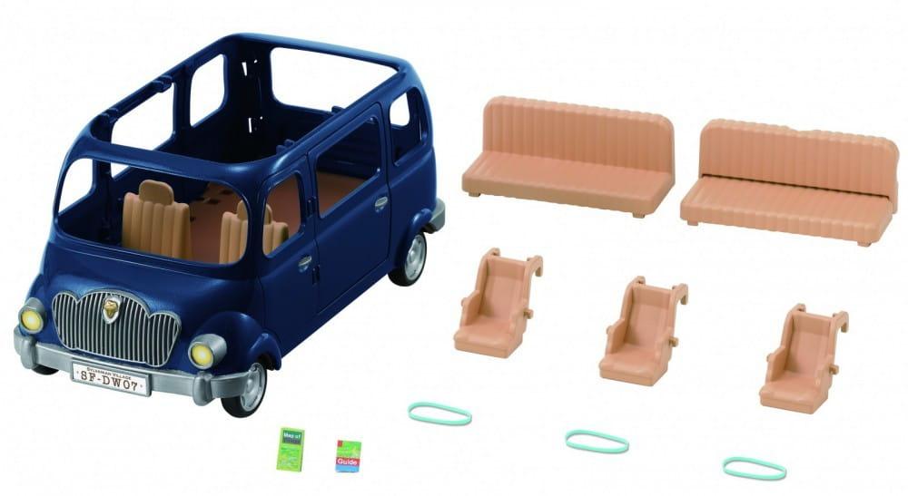 Купить Игровой набор Sylvanian Families Семейный автомобиль - 7 мест в интернет магазине игрушек и детских товаров