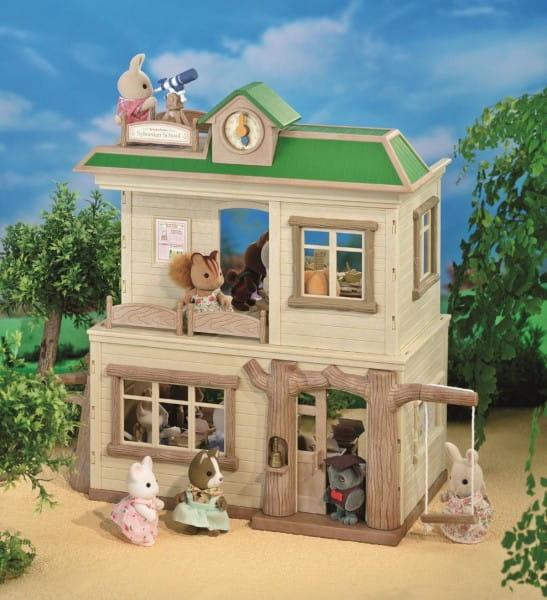 Купить Игровой набор Sylvanian Families Школа в интернет магазине игрушек и детских товаров