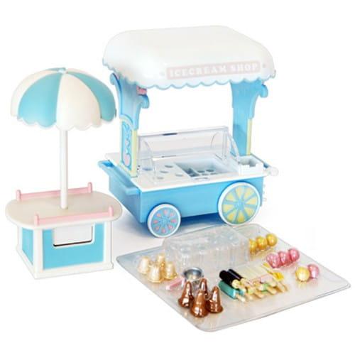 Купить Игровой набор Sylvanian Families Тележка с мороженым в интернет магазине игрушек и детских товаров