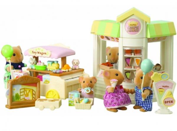 Купить Игровой набор Sylvanian Families Детская ярмарка в интернет магазине игрушек и детских товаров
