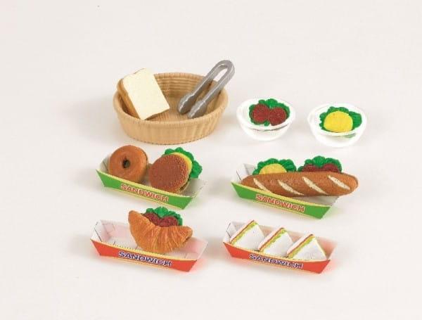 Купить Игровой набор Sylvanian Families Приготовление сандвичей в интернет магазине игрушек и детских товаров