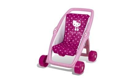 Купить Первая коляска Smoby Hello Kitty в интернет магазине игрушек и детских товаров