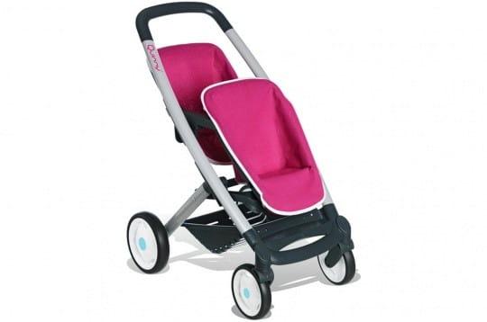 Купить Прогулочная коляска Quinny для двух кукол (Smoby) в интернет магазине игрушек и детских товаров