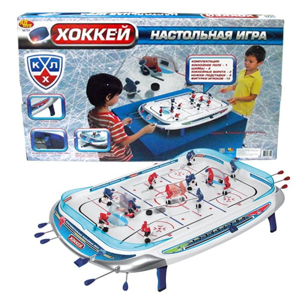 Настольный хоккей КХЛ (ABtoys)