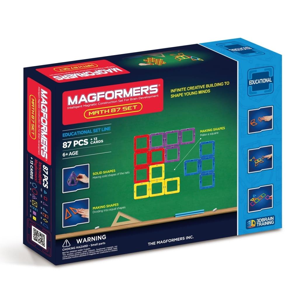 Магнитный конструктор Magformers 711002 (63109) Math set Увлекательная математика (100 деталей)