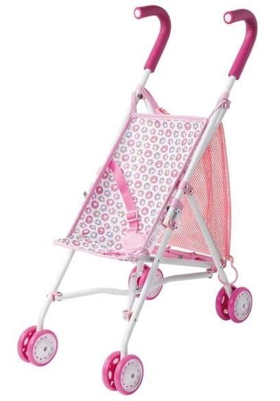 Купить Коляска-трость Baby Annabell с рисунком (Zapf Creation) в интернет магазине игрушек и детских товаров