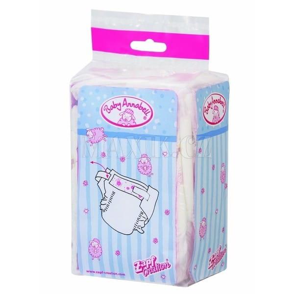 Купить Памперсы для Baby Annabell - 5 штук (Zapf Creation) в интернет магазине игрушек и детских товаров