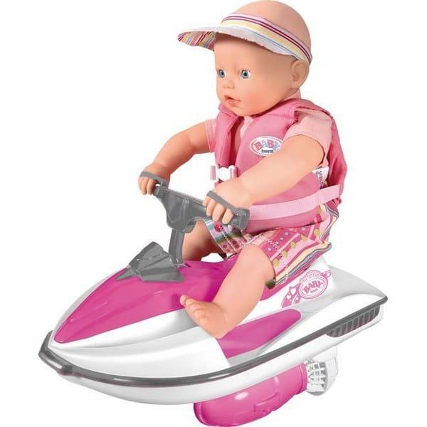 Купить Кукла My little Baby born на водном скутере 32 см (Zapf Creation) в интернет магазине игрушек и детских товаров