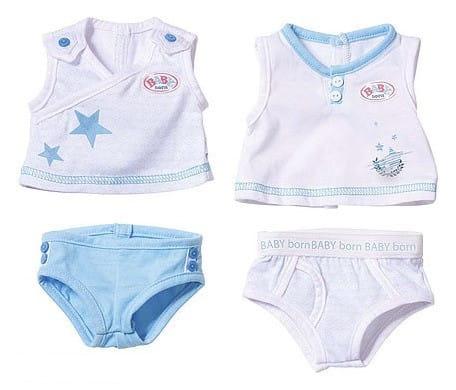 Купить Нижнее белье для Baby born (Zapf Creation) в интернет магазине игрушек и детских товаров