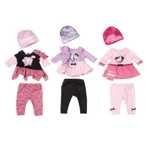 Купить Одежда для модниц Baby born (Zapf Creation) в интернет магазине игрушек и детских товаров