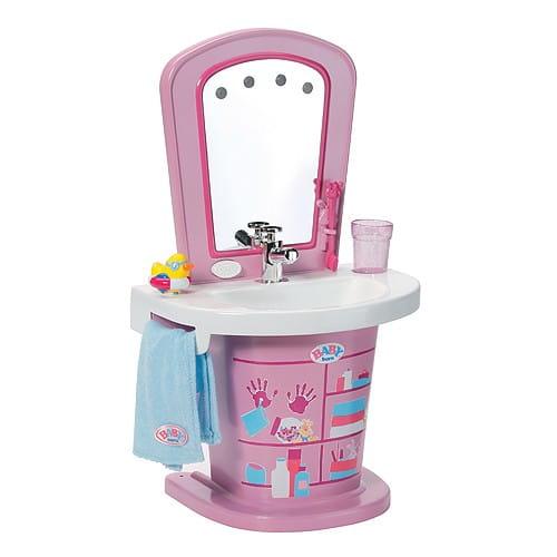 Купить Интерактивный умывальник Baby born (Zapf Creation) в интернет магазине игрушек и детских товаров