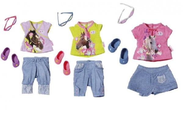 Купить Одежда модная Baby born (Zapf Creation) в интернет магазине игрушек и детских товаров