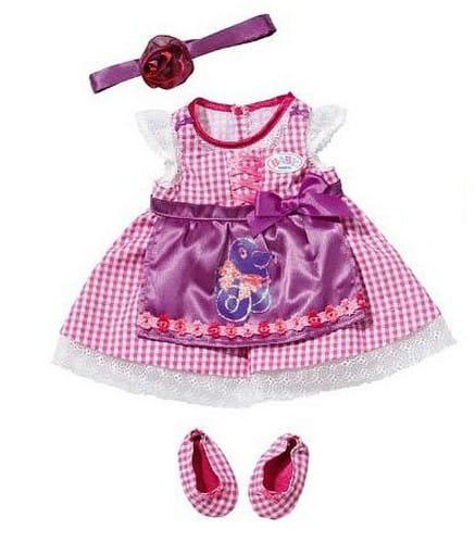 Купить Платье Baby born Красотка (Zapf Creation) в интернет магазине игрушек и детских товаров