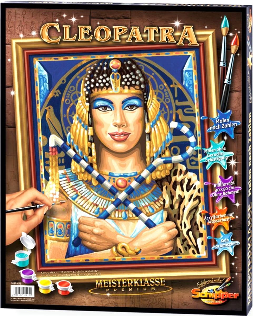 Раскраска по номерам SCHIPPER Клеопатра - купить по лучшей ...