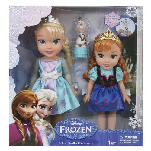 Купить Куклы Disney Princess Принцессы Дисней Холодное Сердце - Эльза и Анна в интернет магазине игрушек и детских товаров
