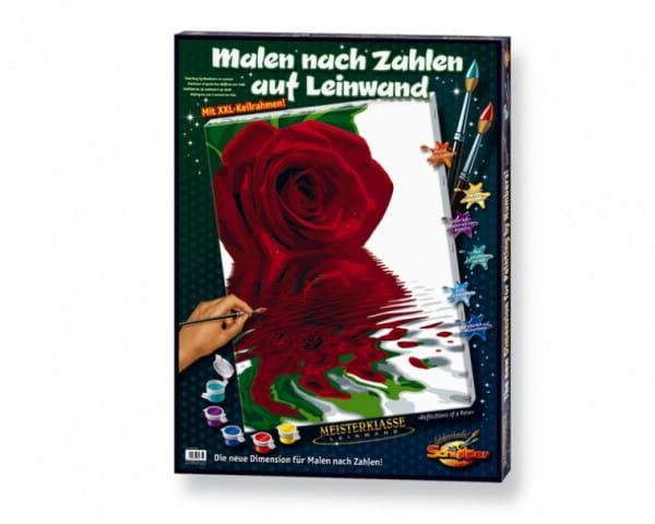 Раскраска по номерам Schipper 9290475 Отражение розы
