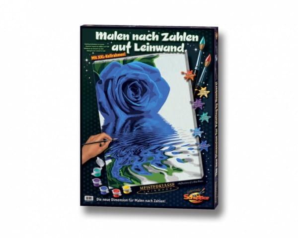 Раскраска по номерам Schipper 9290513 Синяя роза
