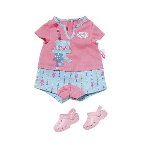 Купить Пижамка с обувью Baby born (Zapf Creation) в интернет магазине игрушек и детских товаров