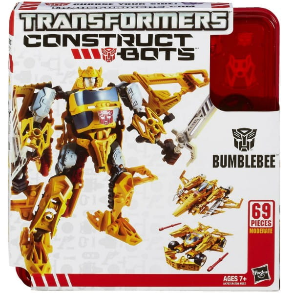 Купить Набор Собери робота Transformers Тройная трансформация Бамблби (Hasbro) в интернет магазине игрушек и детских товаров